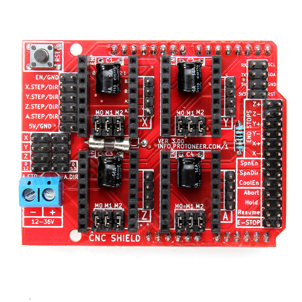 Плата управления CNC, Arduino CNC Shield V3.0